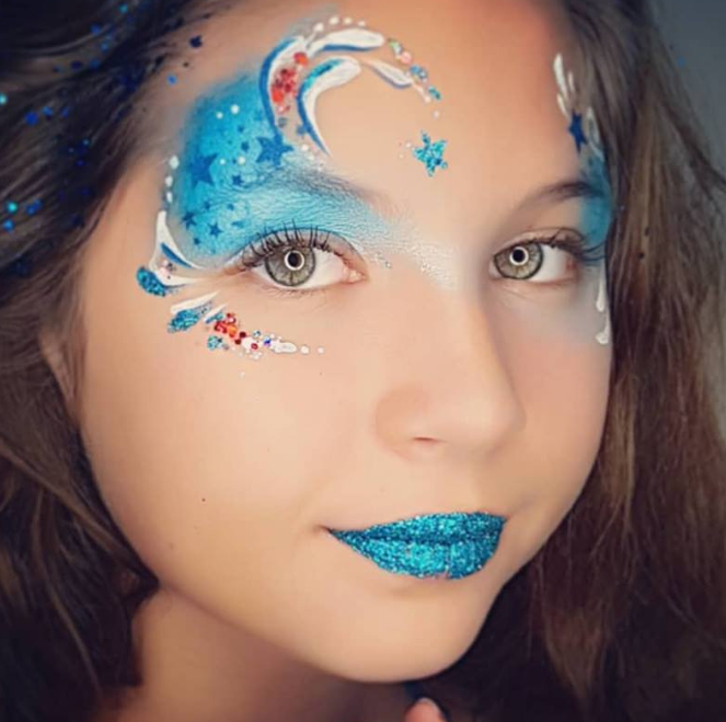 TAP 061 Face Painting Stencil | Magical Stars