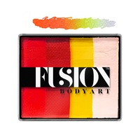 Fusion Body Art Face & FX Rainbow Cakes – Glowing Tiger | 50g