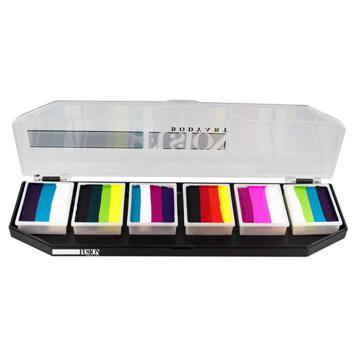 Fusion Face Painting Palette – Rainbow Burst