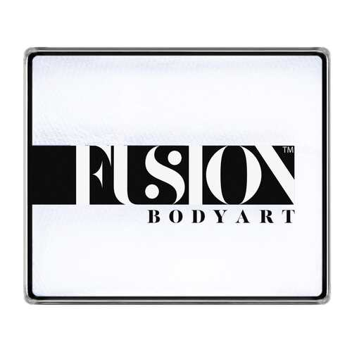 Fusion Body Art Face Paints – Prime Paraffin White | 50g