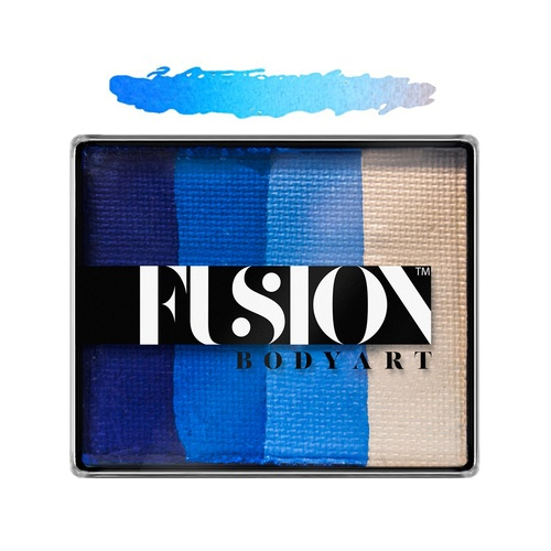 Fusion Body Art Face Painting Rainbow Cakes – Frozen Shimmer | 50g