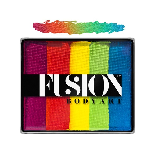Fusion Body Art Face Painting Rainbow Cakes – Rainbow Joy | 50g