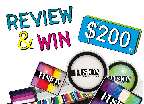 Win $200 worth of Fusion Body Art Products