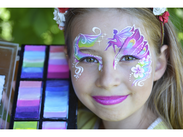 Fairy Face Paint Design      |      Design by Natalia Kirillova | Step by Step